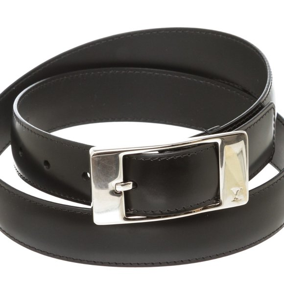 Louis Vuitton Other - Louis Vuitton Black Ceinture Mirage Belt 90 cm